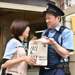 中島ひろ子、佐藤二朗/「過保護のカホコ」第3話より(画像提供:日本テレビ)