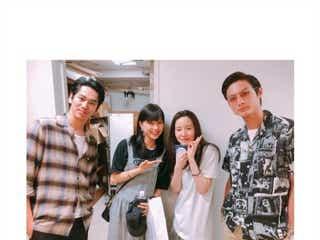 芳根京子・高良健吾・永山絢斗、蓮佛美沙子の舞台を観劇 「べっぴんさん」再会4ショットに反響