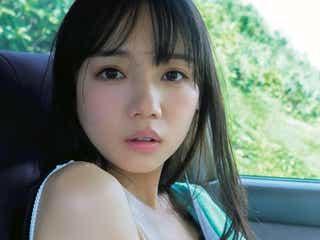 日向坂46齊藤京子、1st写真集「とっておきの恋人」発売前重版決定 白水着の彼女感溢れるカットも公開