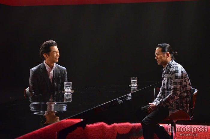 EXILE・HIRO(右)、DREAMS COME TRUE・中村正人が対談(C)NHK