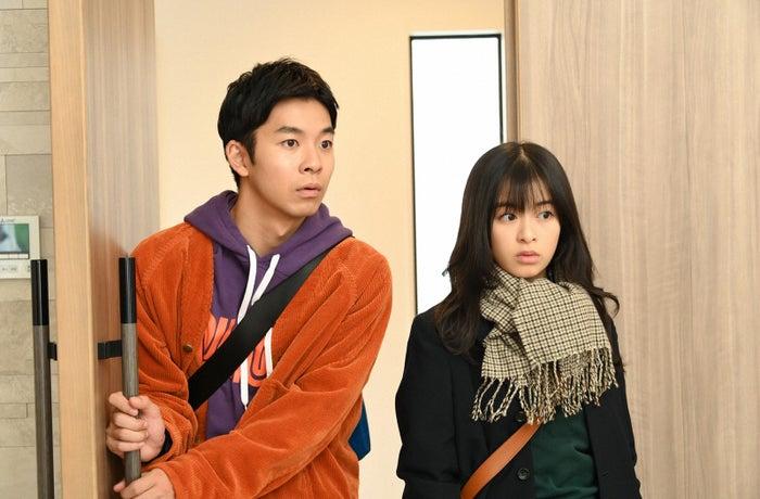 仲野太賀、森七菜/「この恋あたためますか」第6話より(C)TBS