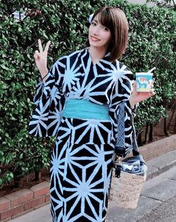 後藤真希、浴衣姿で夏祭りショット公開に反響「少女みたい」