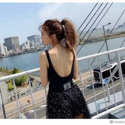 モデルプレス - AAA宇野実彩子、美背中あらわなSEXYショットに反響「全身美人」