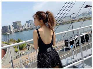 AAA宇野実彩子、美背中あらわなSEXYショットに反響「全身美人」