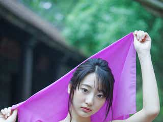 武田玲奈、異国の地で美ボディ魅せる 撮影中止のハプニングも発生