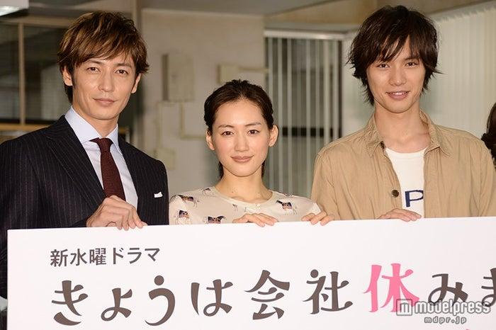 (左から)玉木宏、綾瀬はるか、福士蒼汰