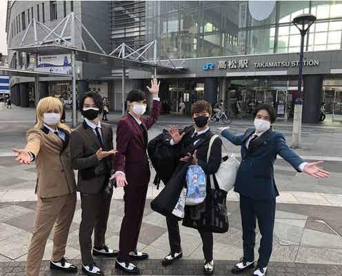 """A.B.C-Zが伝説作った!「ジャニーズ伝説」会見から香川のライブへ5時間""""自力旅"""""""