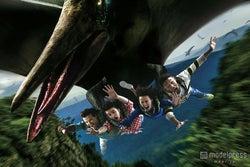 ザ・フライング・ダイナソー(R)&(C)Universal Studios&Amblin Entertainment(C)&(R)Universal Studios.All rights reserved.