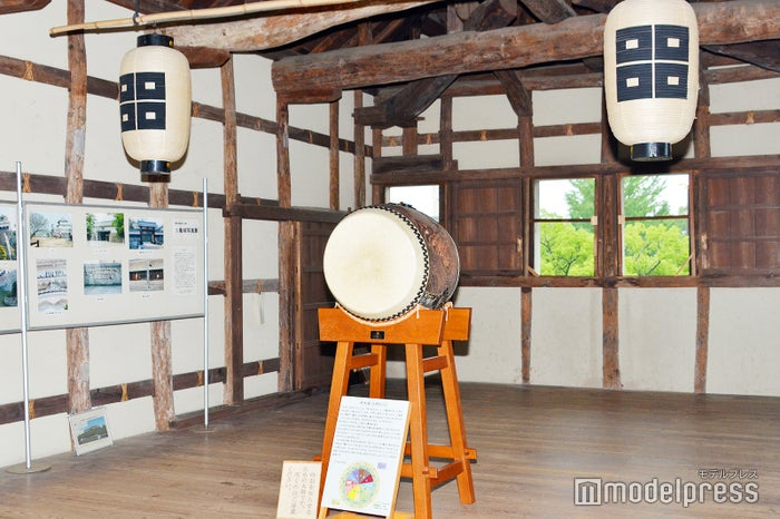 時太鼓(ときだいこ)/かつて藩士が太鼓の音で刻を知らせるために活用されていた(C)モデルプレス