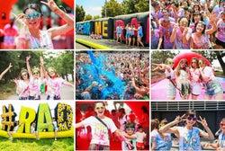 カラーランイベント「Color Me Rad」東京・大阪の2都市で開催決定