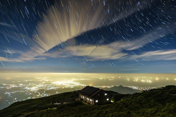 「星々を眺める」星取県フォトコンテスト大賞作品 (提供写真)