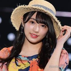 欅坂46渡辺梨加、お嬢さんコーデがぴったり 上品に魅了<TGC2019S/S>