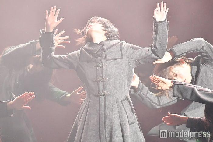 欅坂46/写真はリハーサル時(C)モデルプレス