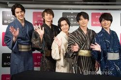 (左から)甲斐翔真、小関裕太、松岡広大、吉沢亮、神木隆之介 (C)モデルプレス