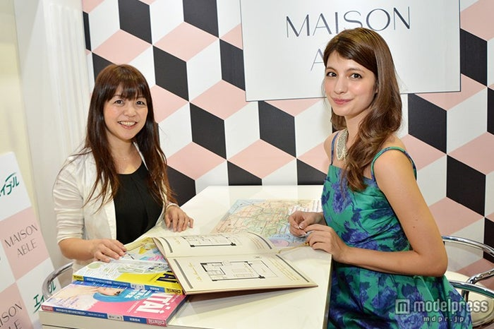 「MAISON ABLE」店長、マギー/「MAISON ABLE」ブース