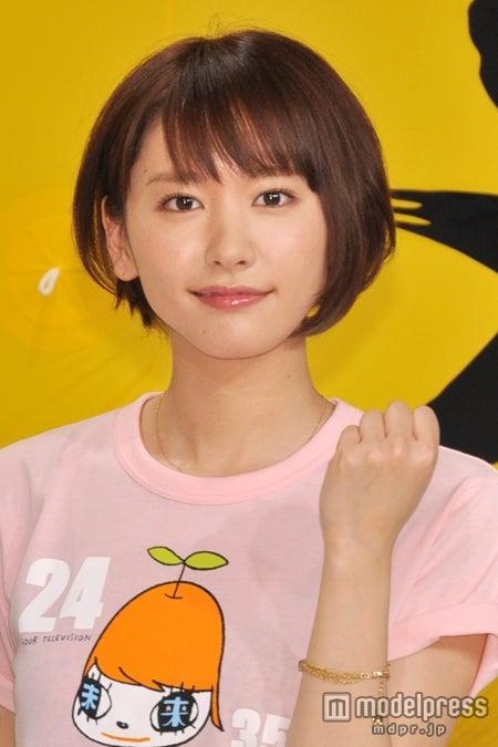 「24時間テレビ35 愛は地球を救う」(日本テレビ系)制作発表会見に出席した新垣結衣