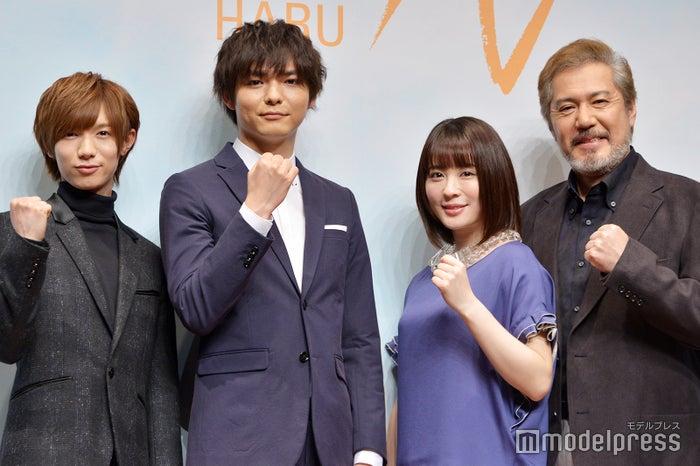 (左から)七五三掛龍也、薮宏太、北乃きい、今井清隆(C)モデルプレス