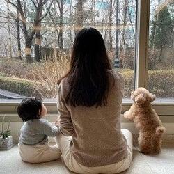 チェ・ジウ、インスタグラムを開設 娘の後ろ姿を公開