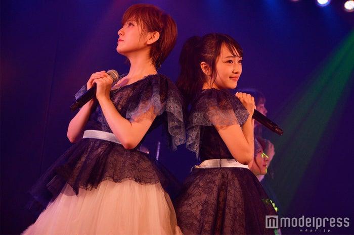 岡田奈々、向井地美音/AKB48「サムネイル」公演(C)モデルプレス