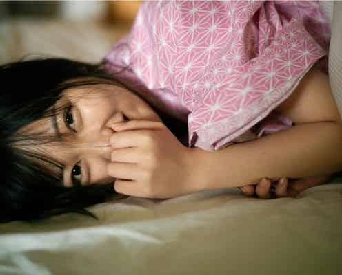 HKT48 田中美久、旅館で「添い寝」風ショットに「幸せすぎる」「最高です」の声