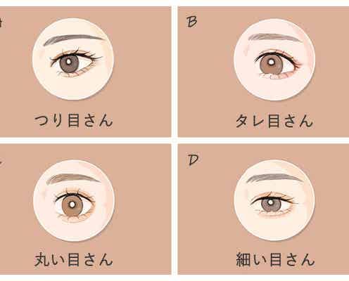 【目のカタチ診断】一番近いのはどれ?目の形でわかる!あなたの「嫉妬深さ」