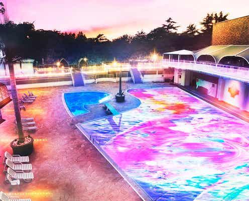 ホテルニューオータニのプールでサウナ体験!「NAKED NIGHT SAUNA×HOTEL NEW OTANI」開催