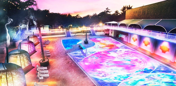 NAKED NIGHT SAUNA × HOTEL NEW OTANI -CITY RETREAT-/画像提供:ニュー・オータニ