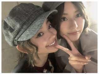 朝比奈彩、欅坂46土生瑞穂との再会ショットに反響「2人とも美人すぎ」