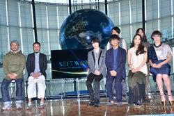 (左から)真鍋大度氏、森永邦彦氏、神木隆之介、サカナクション
