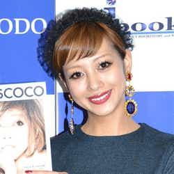 自身初のパーソナルフォトブック「MISSCOCO」(宝島社)の発売記念イベントに登場した木下ココ