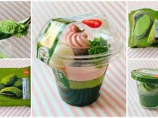 【セブン】春の京都を自宅で味わう♪宇治抹茶スイーツ全種類を食べ比べ!