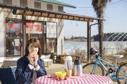 いちご狩り×サイクリングが合体!「フルーツ春フェス」走って食べて春を満喫