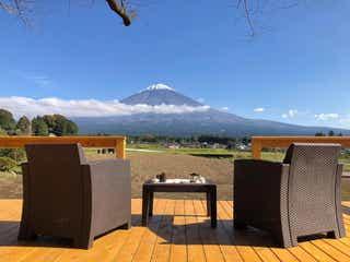 静岡「マウントフジ里山バケーション」富士山眺める絶景グランピング&エコツアー施設