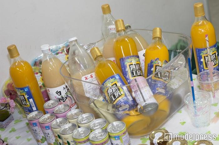 果物を使ったジュースも (C)モデルプレス