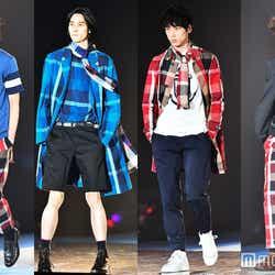 「GirlsAward 2016 S/S」に出演した高橋義明、柳俊太郎、坂口健太郎、成田凌ら「MEN'S NON-NO」モデル(C)モデルプレス