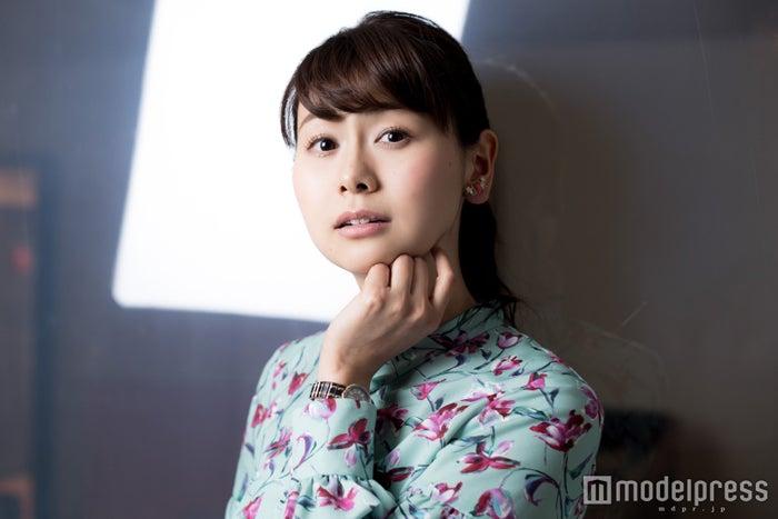 山中章子アナウンサー(C)モデルプレス