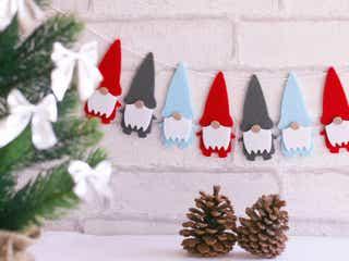 マスキングテープを使って作る、クリスマスツリーが大人気!