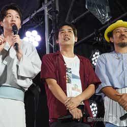 (左から)田中圭、スキマスイッチ (C)モデルプレス