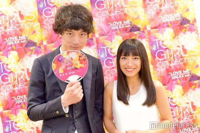 モデルプレスのインタビューに応じた坂口健太郎、miwa(C)モデルプレス