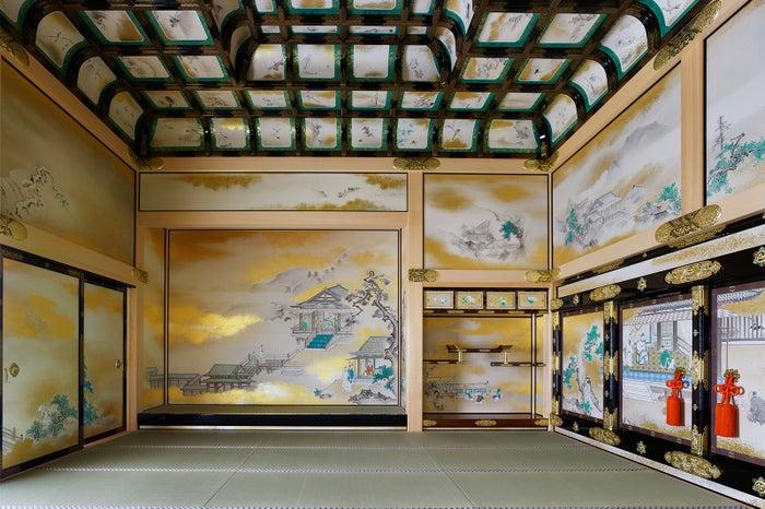 上洛殿上段之間/画像提供:名古屋市観光文化交流局名古屋城総合事務所