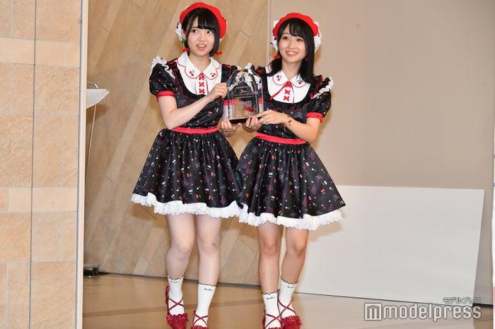 登場から初々しさ溢れる2人/AKB48多田京加、HKT48松田祐実 (C)モデルプレス