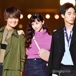 中条あやみ&佐野勇斗&清水尋也、3ショットが美麗 腕組みランウェイ<TGC2018A/W>
