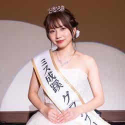 成蹊大学・松本楓加さん(提供写真)