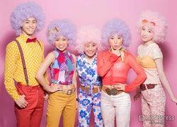 SMAPが「ようかい体操第一」披露 キング・クリームソーダ&Dream5とコラボLIVE