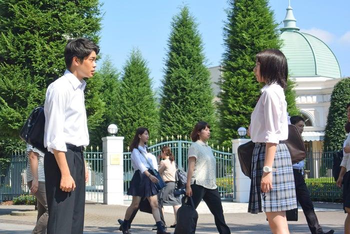 井之脇海、上白石萌歌/「義母と娘のブルース」第6話より(C)TBS
