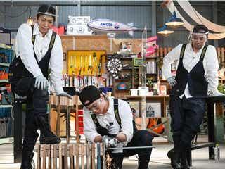 NEWS・小山慶一郎&加藤シゲアキ、千鳥・大悟がDIYしたパレットチェアが完成<NEWSの全力!!メイキング>