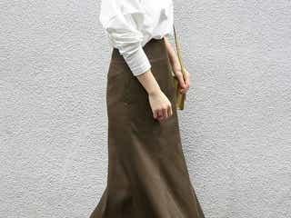 一枚は持っていたい!秋色の代表《茶色スカート》特集