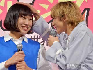 """「おっさんに見間違われた」しずちゃんのストレス、小関裕太の""""頭ポンポン""""でチャラに"""