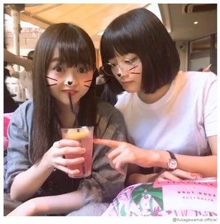元乃木坂46深川麻衣、卒業メンバー・伊藤万理華と再会 密着動画が可愛すぎる