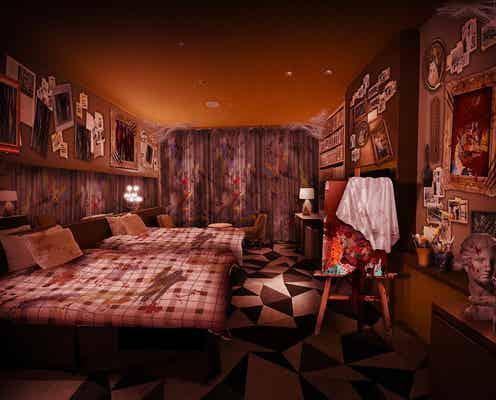 """USJ公式ホテルに謎解きホラールーム """"不気味なアトリエ""""でミッションに挑む"""